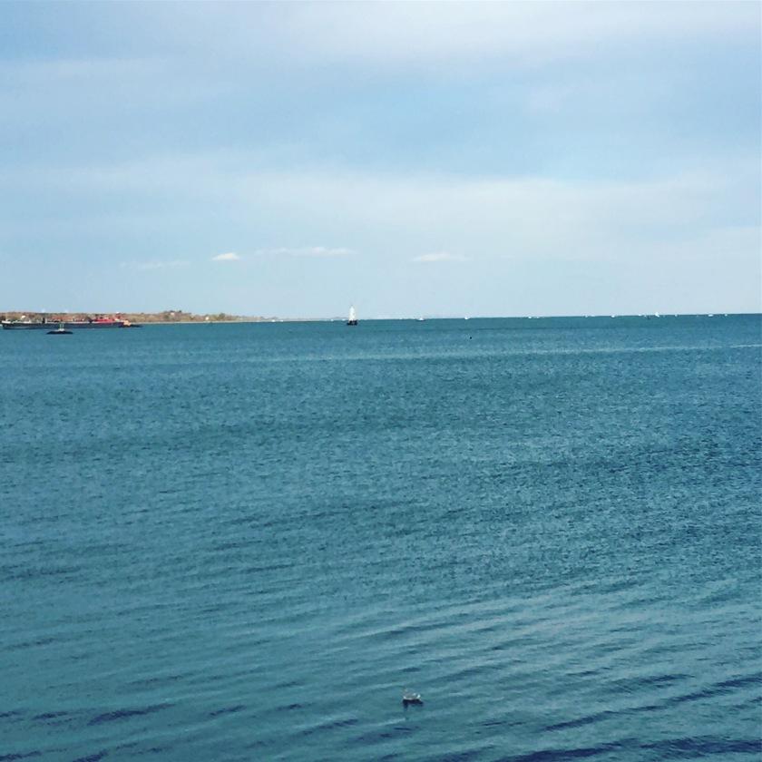 Raritan Bay, South Amboy, New Jersey.