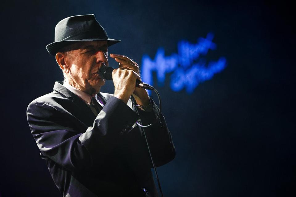 RIP Leonard Cohen(1934-2016)