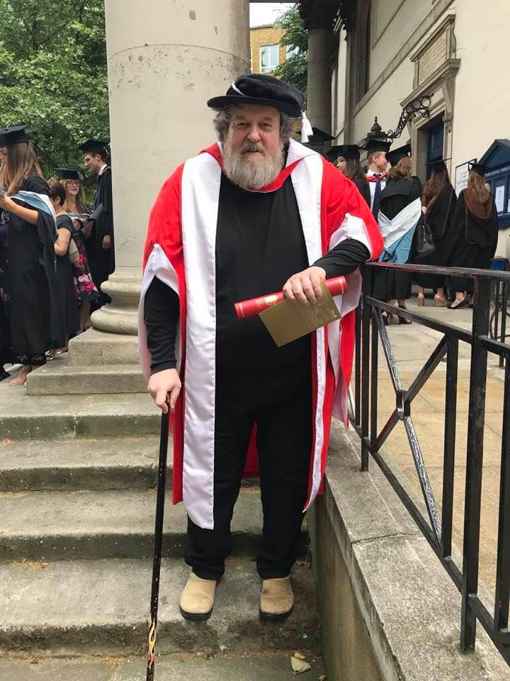 Knussen Honorary Doctorate RAM July 2018